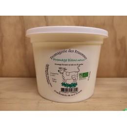 Fromage blanc nature 500g gaec des frisonnes
