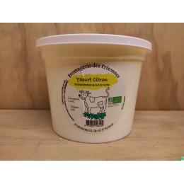 Yaourt citron 500ml gaec des frisonnes