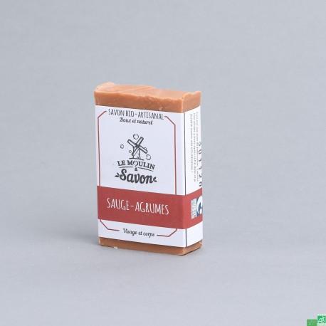 Savon sauge agrumes le mouin a savon