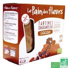 Tartines cacao le pain des fleurs