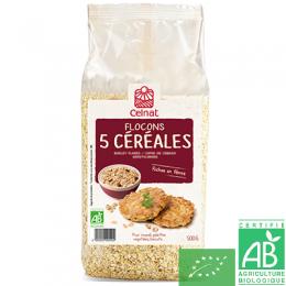 Flocons 5 cereales celnat