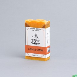 Savon cannelle orange le moulin a savon