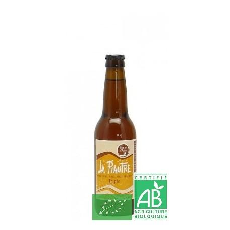Bière La Piautre triple de La Fabrique des bières d'Anjou