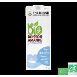 Boisson amande gourmande sans sucre the bridge 1l