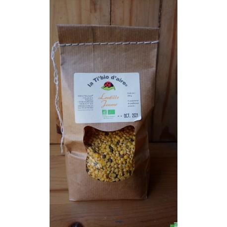 Lentilles jaunes la tibiodaire 500g