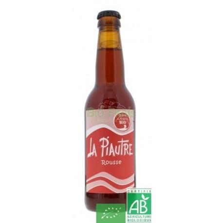 Bière La Piautre rousse de La Fabrique des bières d'Anjou