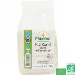 Riz rond blanc de camargue 500g primeal