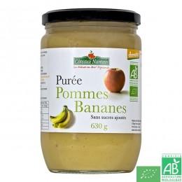Puree pommes bananes coteaux nantais