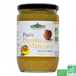 Puree pommes mangues 630g coteaux nantais