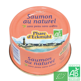 Saumon au naturel phare d eckmühl