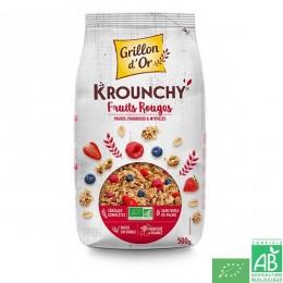 Krounchy fruits rouges grillon d or 500g