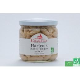 Haricots blancs lingots au naturel champlat 280g