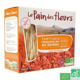 Tartines quinoa le pain des fleurs