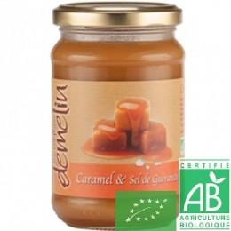 Crème de caramel à la fleur de sel de Guérande Les confitures Demelin