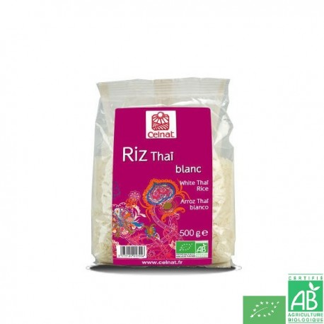 Riz thai blanc celnat
