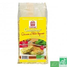 Galettines quinoa et petits legumes Celnat