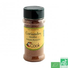 Coriandre moulue cook arcadie