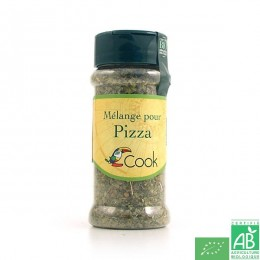 Melange pour pizza 13g cook arcadie