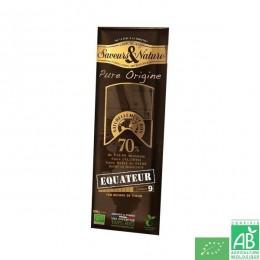 Chocolat noir 70% Equateur Saveurs & nature