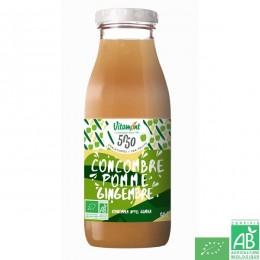 Jus fruit et legume tonique concombre pomme gingem