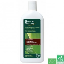 Shampoing brillance cheveux bruns Douce Nature