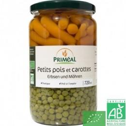 Petits pois et carottes - Priméal