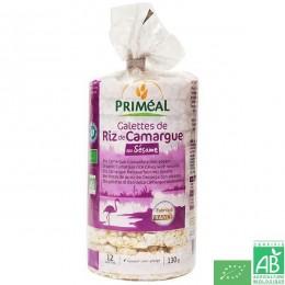Galettes de riz au sésame Priméal