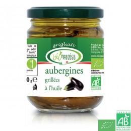 Aubergines grillées biorganica