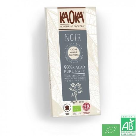 Chocolat noir 90% Kaoka