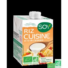 Riz cuisine Soy