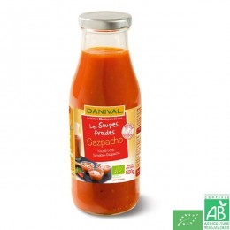 Soupe froide gazpacho danival