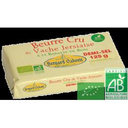 Beurre cru demi sel 125g gaborit
