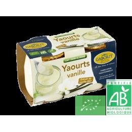 Yaourts vanille bernard gaborit
