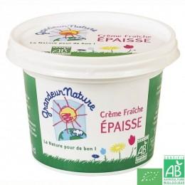 Crème fraîche épaisse grandeur nature