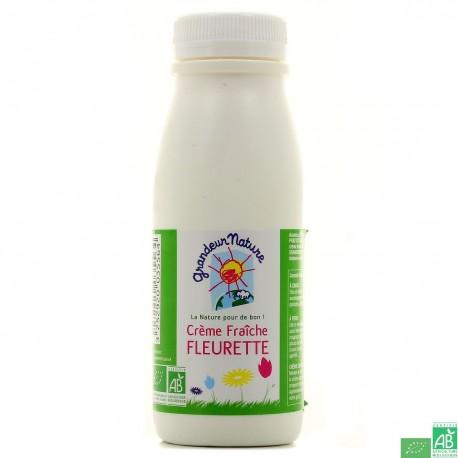 Crème fraîche fleurette Grandeur Nature