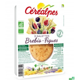 Galettes brebis figues cerealpes