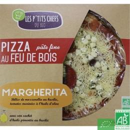Pizza margherita les p tits chefs du bio
