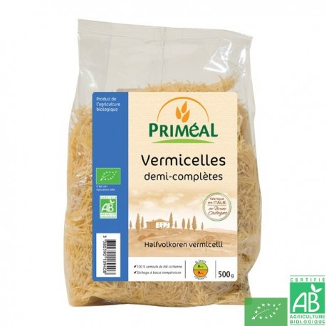 Vermicelles demi omplets 500g primeal