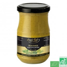 Moutarde 5 plantes emile noel
