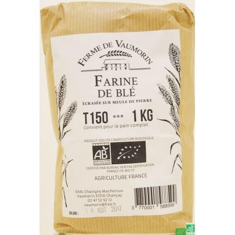 Farine de ble t150 ferme de vaumorin