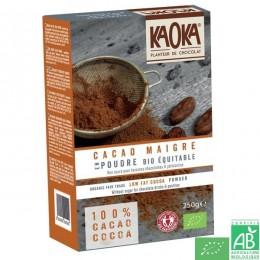 Cacao maigre poudre kaoka