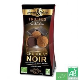 Truffes cacao saveurs et nature