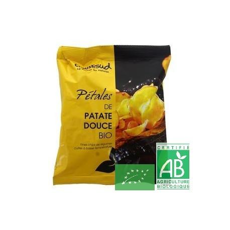 Chips Pétales de patate douce Croustisud