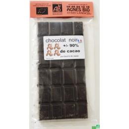 Chocolat noir extra 90% agnes bio