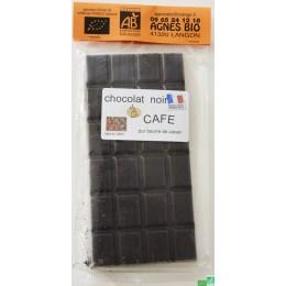 Chocolat noir cafe agnes bio