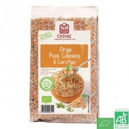 Orge, pois casses et carottes 500g celnat