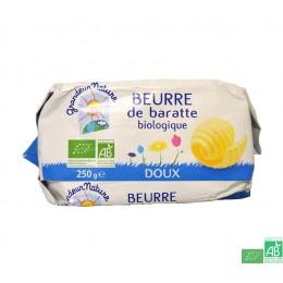 Beurre de baratte doux grandeur nature