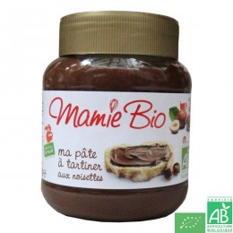 Pate a tartiner noisettes cacao 350g mamie bio