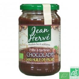 Chocolade sans huile de palme 350g jean herve