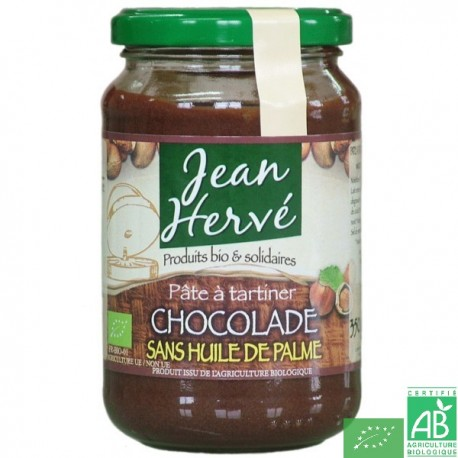 Chocolade sans huile de palme 750g jean herve